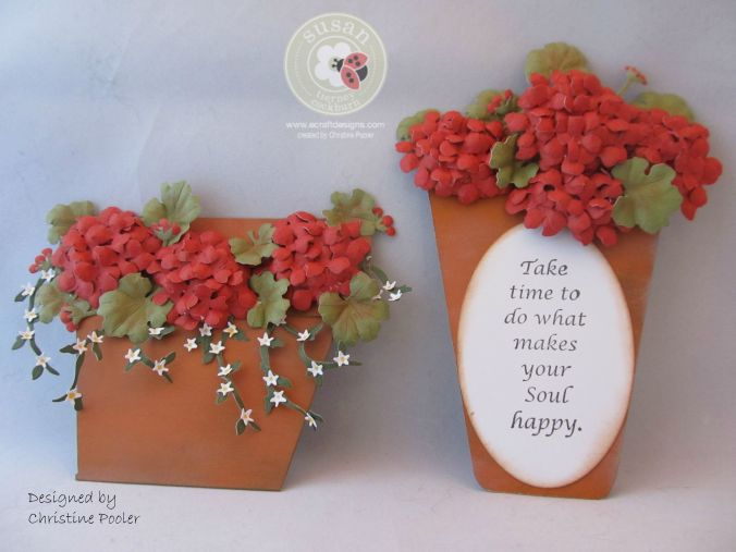 Potted Geraniums 2 8 2015