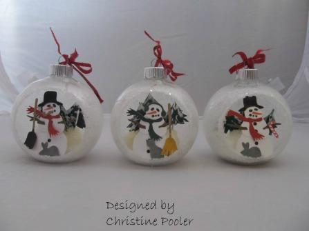 2017-11-29 Snowman Ornaments1