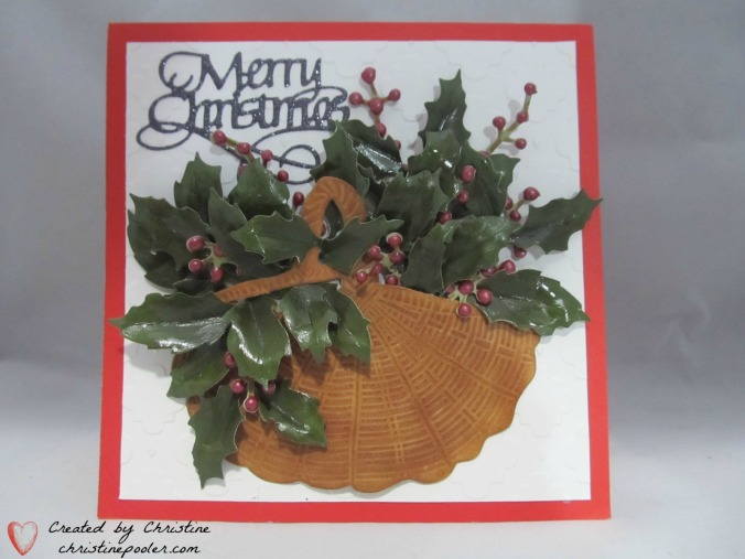 Basket of Holly & BerriesIMG_6941